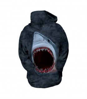 The Mountain Unisex Shark Bite Child Aquatic Animal Hoodie