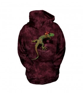 The Mountain Unisex Peace Out Gecko Child Reptile Hoodie