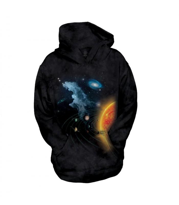 Sweat-shirt enfant motif système solaire - The Mountain