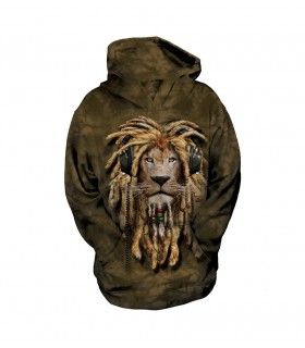 The Mountain Unisex DJ Jahman Lion Child Manimal Hoodie