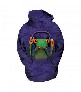 The Mountain Unisex DJ Peace Frog Child Manimal Hoodie
