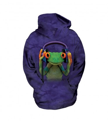 Sweat-shirt enfant motif Grenouille The Mountain