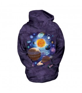 The Mountain Unisex You Are Here Child Space Hoodie