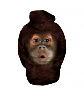The Mountain Unisex BF Baby Orangutan Child Animal Hoodie