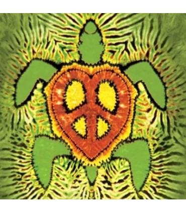 Rasta Peace Turtle - Aquatics T Shirt by the Mountain