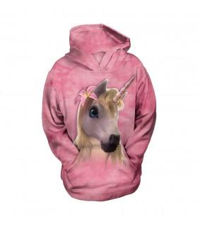Sweat-shirt enfant motif licorne - The Mountain