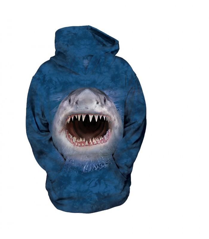 Sweat-shirt pour enfant motif requin - The Mountain