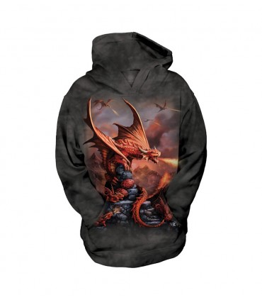 Sweat-shirt pour enfant motif Dragon de Feu - The Mountain