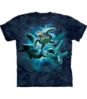 T-Shirt groupe de Tortues par The Mountain