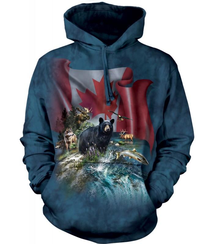 Sweat-shirt enfant motif Canada - The Mountain