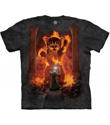 The Mountain You Shall Not Pass Cat Fantasy Humour T Shirt