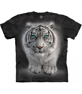 The Mountain Wild Intentions White Tiger Animal T Shirt