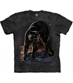 The Mountain Panther Portrait Big Cat Animal T Shirt