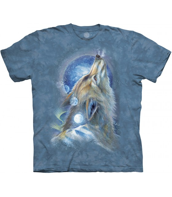 05db9bd094b8 T-Shirts Loups - The Mountain - soTSHIRT