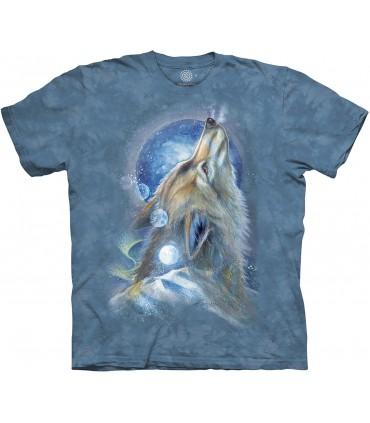 Tee-shirt Loup Hurlant The Mountain