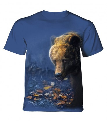 The Mountain Unisex Foraging Bear Animal T Shirt