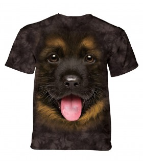 Tee-shirt chiot berger allemand The Mountain