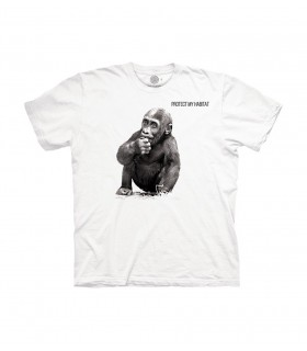 The Mountain Unisex Baby Gorilla Animal Protect T Shirt