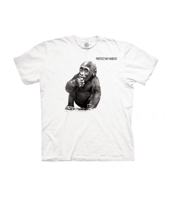 5901b21d49db3f The Mountain Unisex Baby Gorilla Animal Protect T Shirt