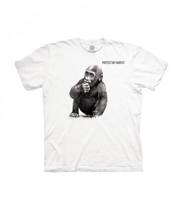 The Mountain Unisex Baby Gorilla Animal Protect T Shirt