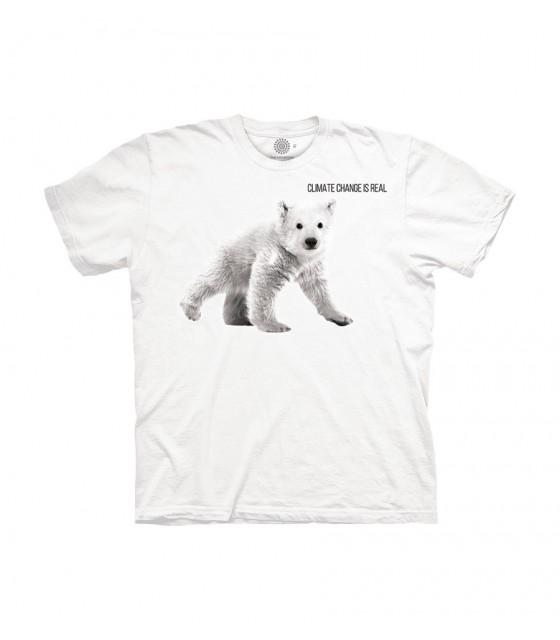 828cd6695 The Mountain Polar Bear Cub Climate Change Protect T Shirt