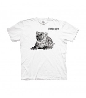 The Mountain Baby Leopard Extinction Animal Protect T Shirt