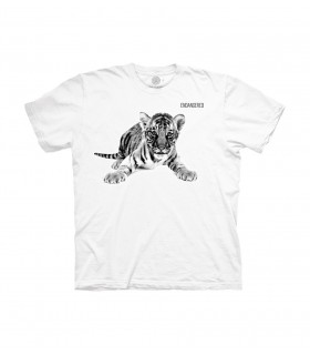 The Mountain Tiger Cub Endangered Animal Protect T Shirt