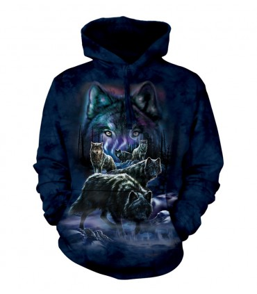 Sweat-shirt Meute de Loups The Mountain