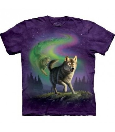 Aurora Wolfpack - Wolf T Shirt by the Mountain