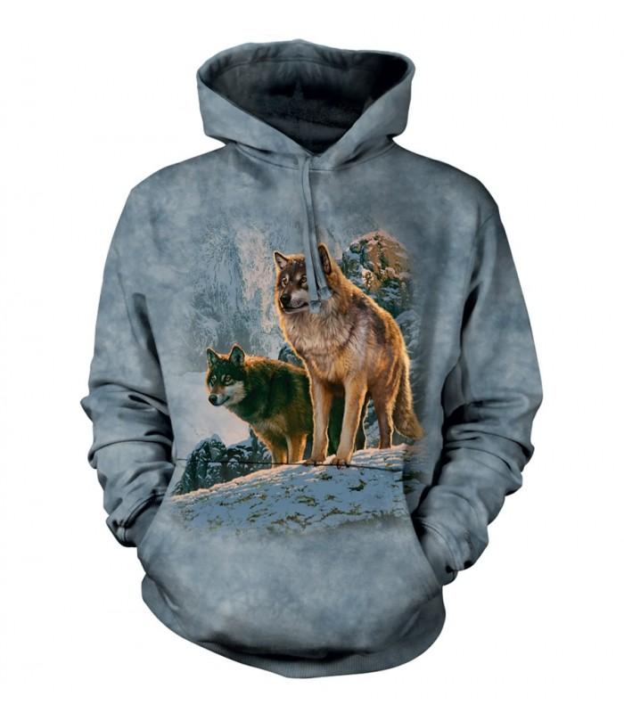 Sweat-shirt Loup The Mountain