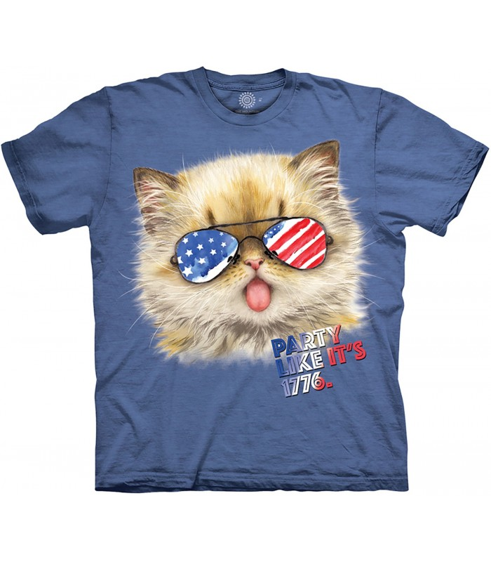 Tee-shirt Patriotique The Mountain