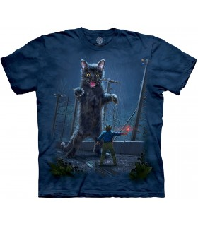 The Mountain Jurassic Kitten Pet Fantasy T Shirt
