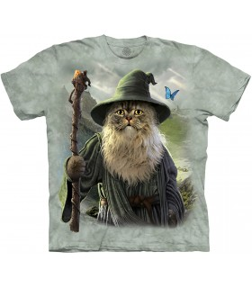 The Mountain Catdalf Pet T Shirt