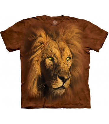 The Mountain Proud King Lion T Shirt