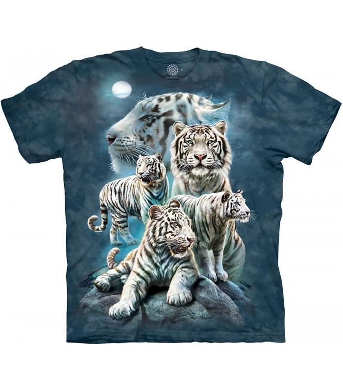 Tee-shirt Tigres de la Nuit The Mountain