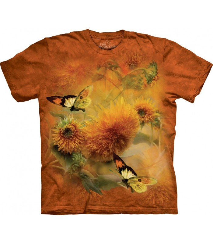 Tee-shirt Tournesols et papillons The Mountain