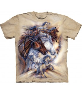 Tee-shirt Chevaux The Mountain