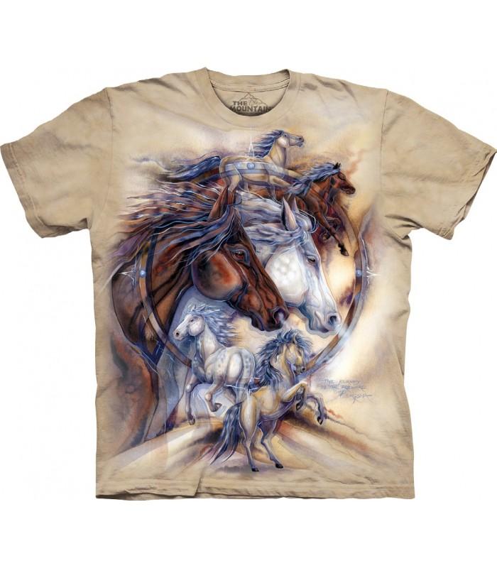 Tee-shirt Chevaux The Mountain