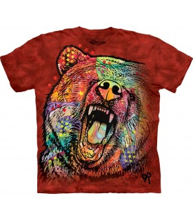 The Mountain Unisex Russo Grizzly T Shirt