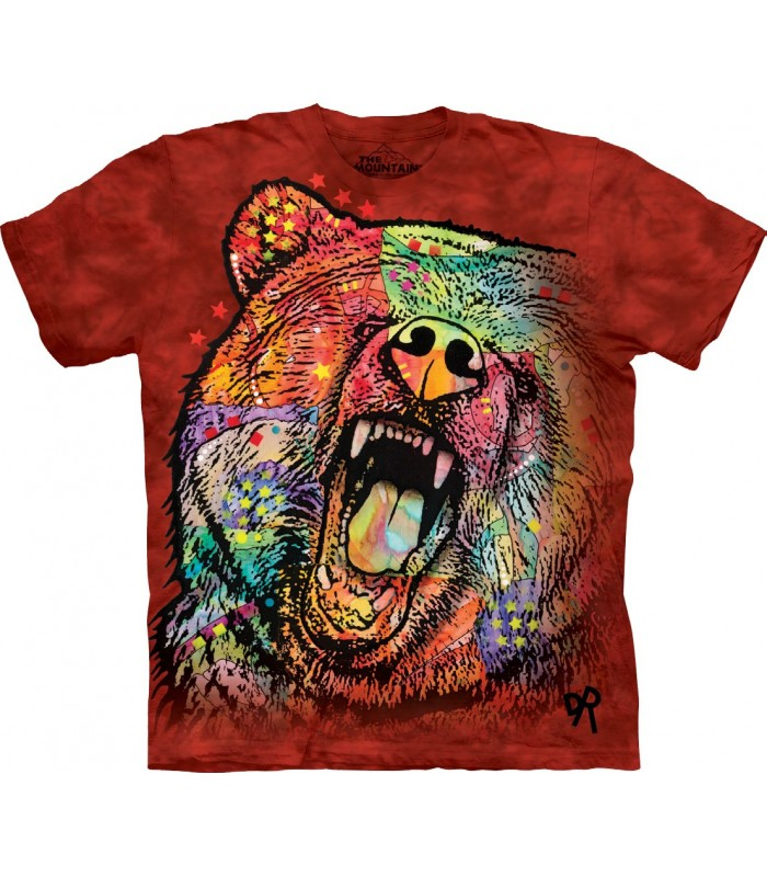 Tee-shirt Grizzly Coloré The Mountain
