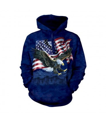 The Mountain Unisex Eagle Hoodie