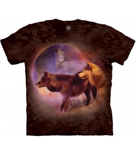 Tee-shirt motif loup The Mountain
