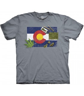 Colorado High Life cannabis Humour T Shirt