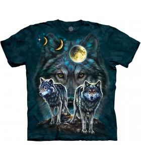 Tee-shirt Loups The Mountain
