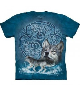 T-Shirt Loup Celtique par The Mountain