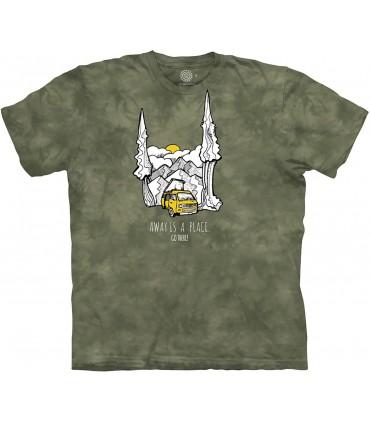 Tee-shirt No Stress The Mountain
