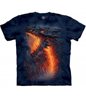 Tee-shirt Dragon de Lave The Mountain