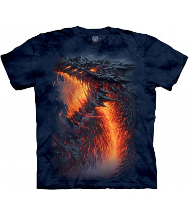 The Mountain Lavaborn Dragon T Shirt