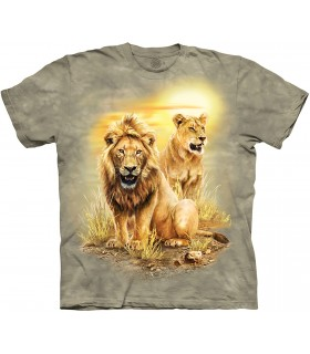 Tee-shirt Lion The Mountain