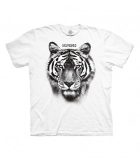 Tee-shirt Tigre en danger The Mountain